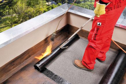 hydroizolácia plochej strechy