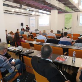 Pohľad do prednáškovej sály SANHYGA 2018- Hotel Magnólia, Piešťany