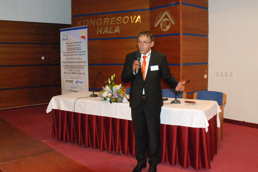 Ing. Robert Lukáč viceprezident ZSD SR otvoril dvojdňové rokovanie