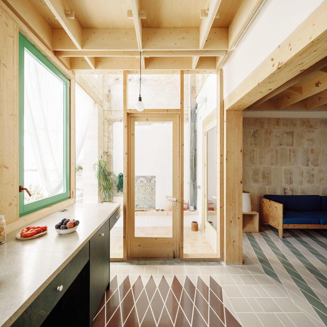 Kuchyňa je jedna z mála miestností s určeným užívaním