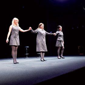 Zľava: Marta Maťová, Zuzana Kronerová, Gabriela Dzuríková