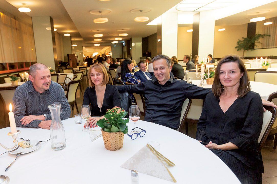 Igor Lichý a Tomáš Šebo, ITB Development s manželkami