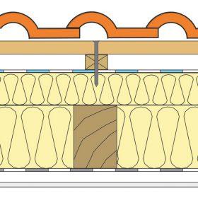 Obr. 4 Perforácia hydroizolácie klincom v mieste kontralaty