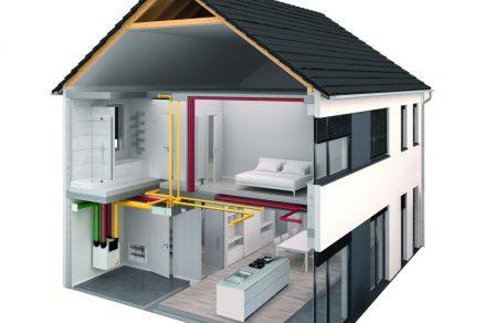 Príklad č. 1 dvojpodlažný rodinný dom