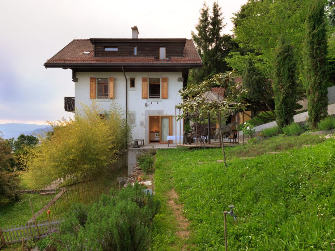 Premena švajčiarskeho domu