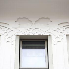 Sto Deco profily na fasáde bytového domu Hop House v Londýne