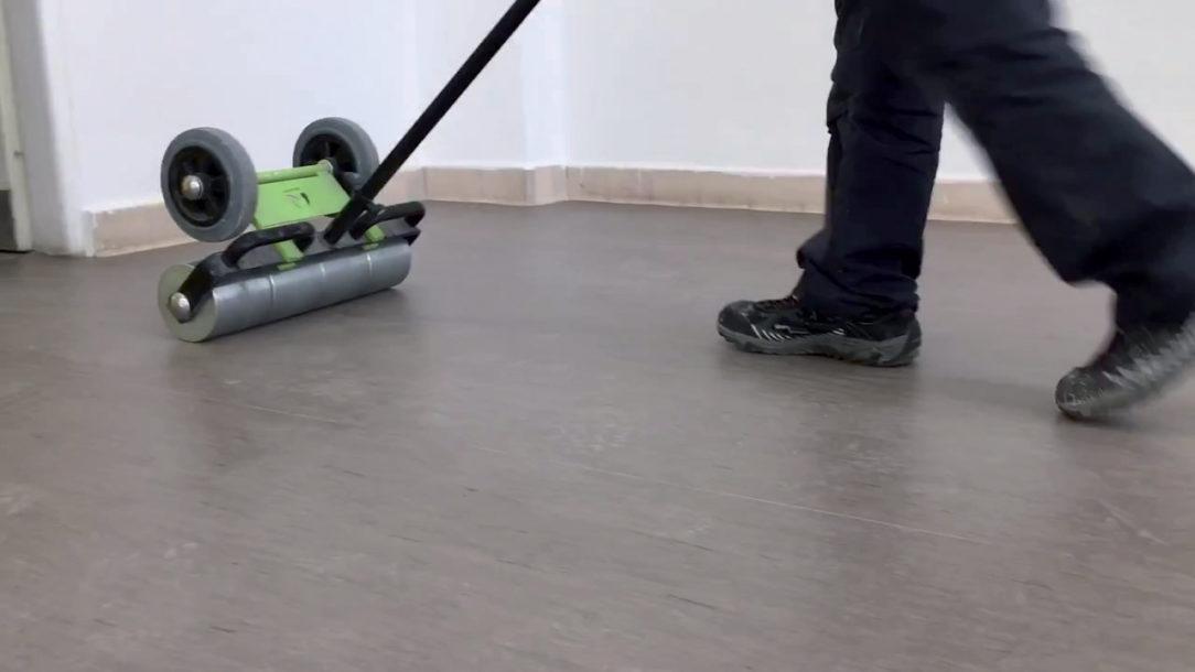 08 Prevalcovanie nalepenej podlahoviny