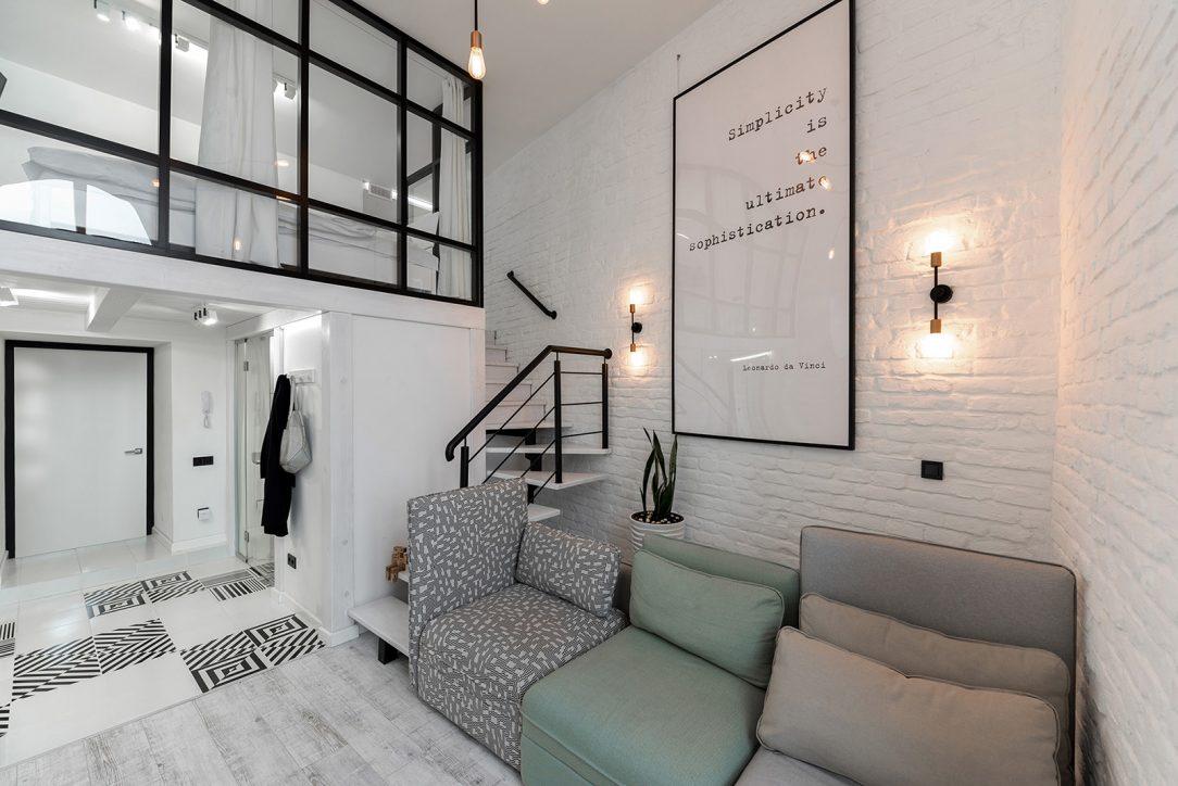 Interiér bytu v minimalistickom štýle 9