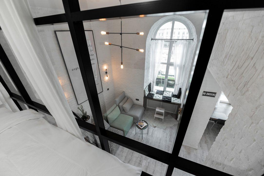 Interiér minimalistického bytu