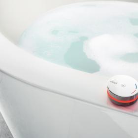 Luxusná vaňová armatúra Multiplex Trio E premení každú kúpeľňu na oázu wellness.