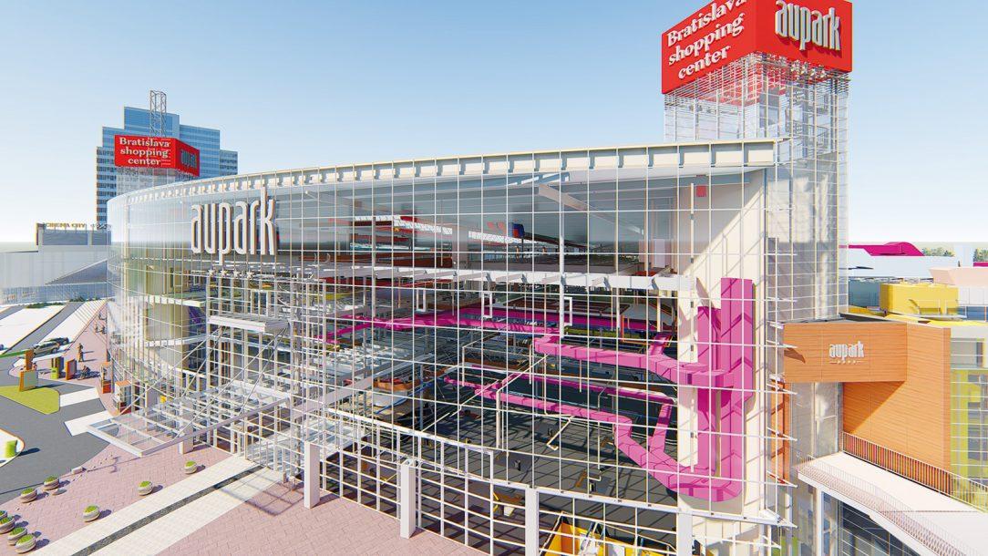 Obchodné centrum Aupark Bratislava