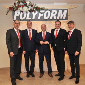 Spoločnosť POLYFORM v novembri oslávil 25 rokov svojej úspešnej existencie