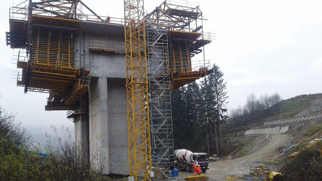 Zárodok objektu 211 00 Most na diaľnici nad údolím v km 41883 D3