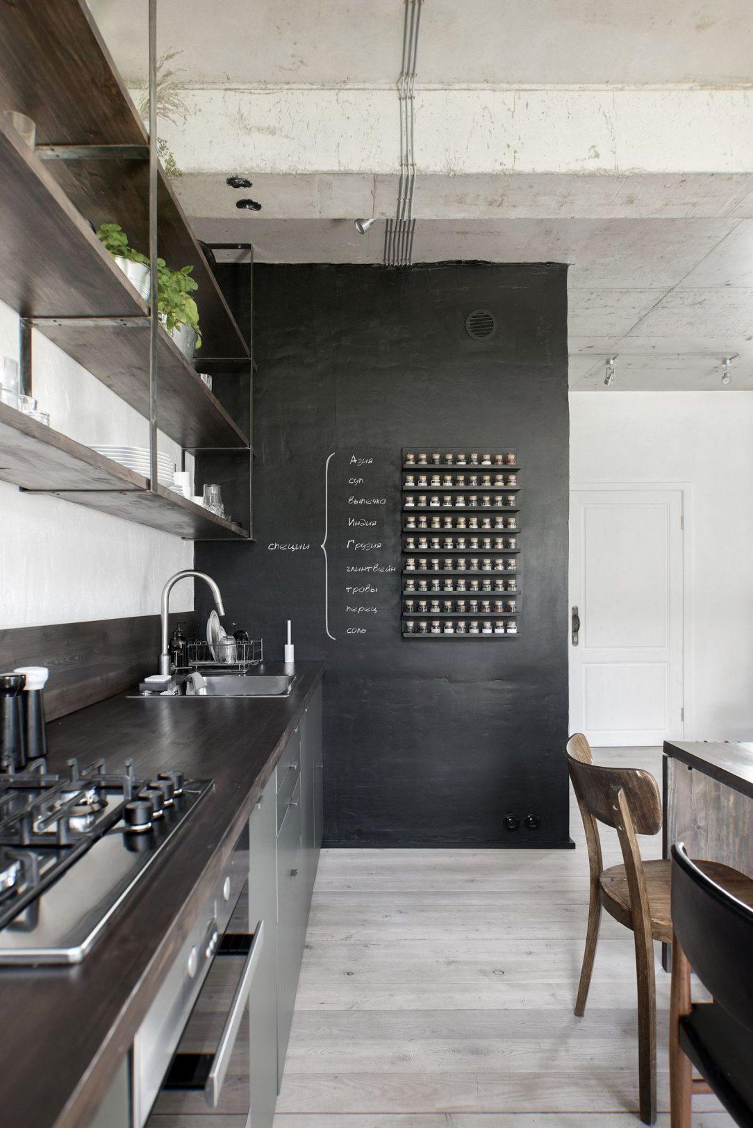 Interiér bytu kuchyňa