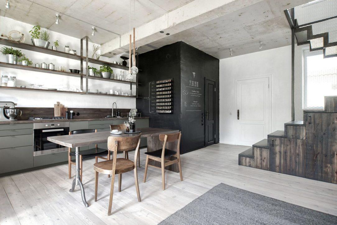 Interiér bytu kuchyňa 3