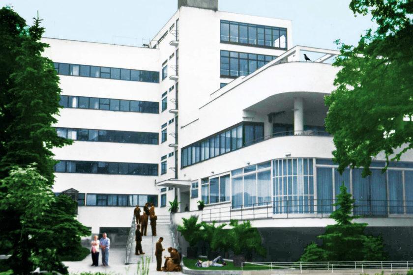 Lenka Borecká Návrh na renováciu liečebného domu Machnáč v Trenčianskych Tepliciach