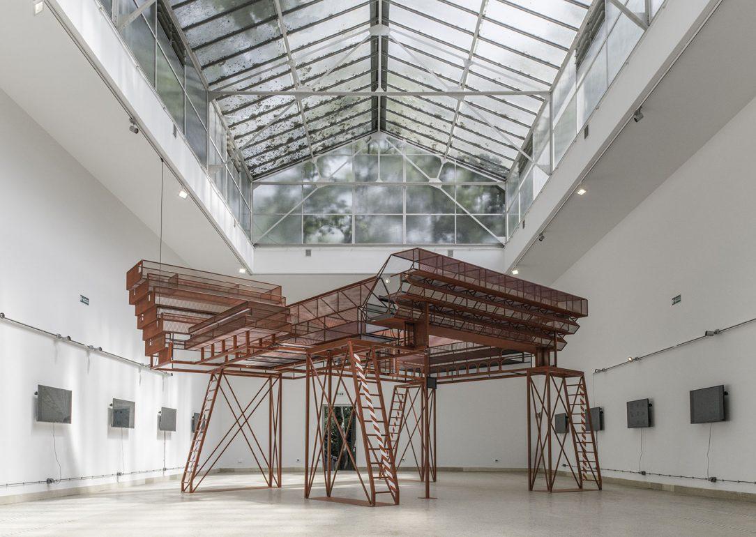 Model Slovenskej národnej galérie 2016 Bienále architektúry v Benátkach