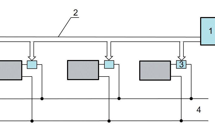 Obr. 2 Zostavy termostatických hlavíc [13] a– so vstavaným ovládačom teploty asnímačom, b – so vstavaným ovládačom teploty adiaľkovým snímačom, c – sdiaľkovým snímačom so vstavaným ovládačom teploty, sdiaľkovým snímačom asdiaľkovým ovládačom teploty