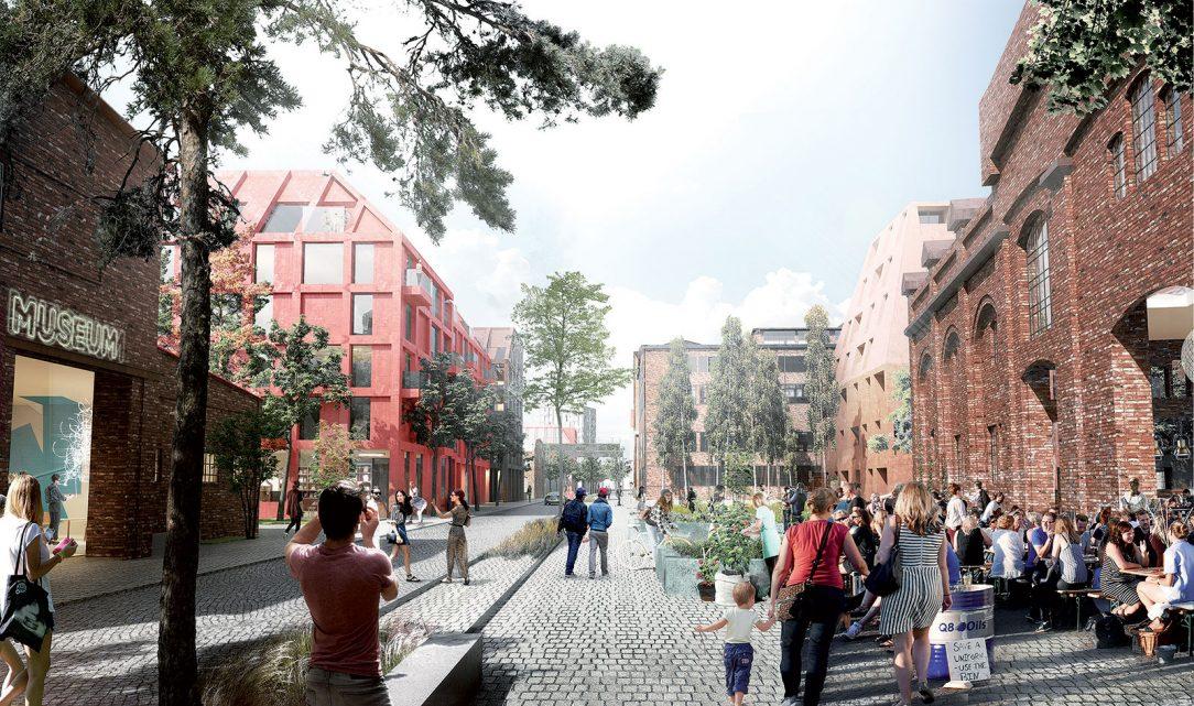 Veľký dôraz kládli architekti na pešie prepojenie