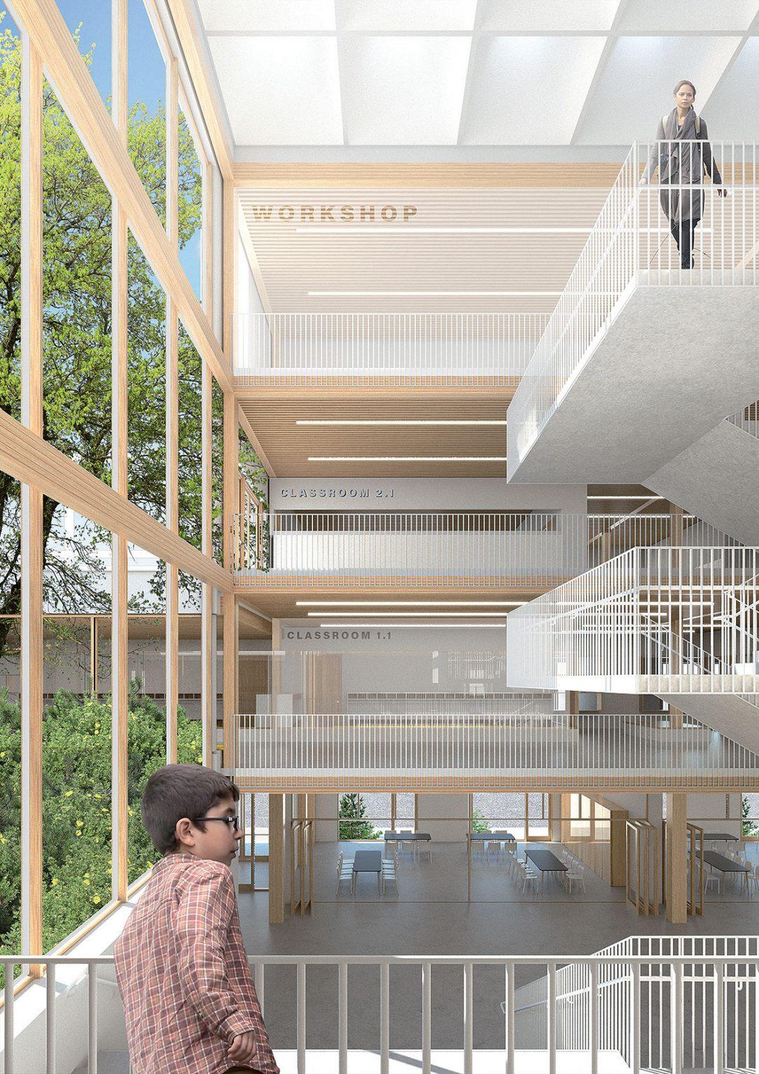 Vzdušne koncipovaný interiér