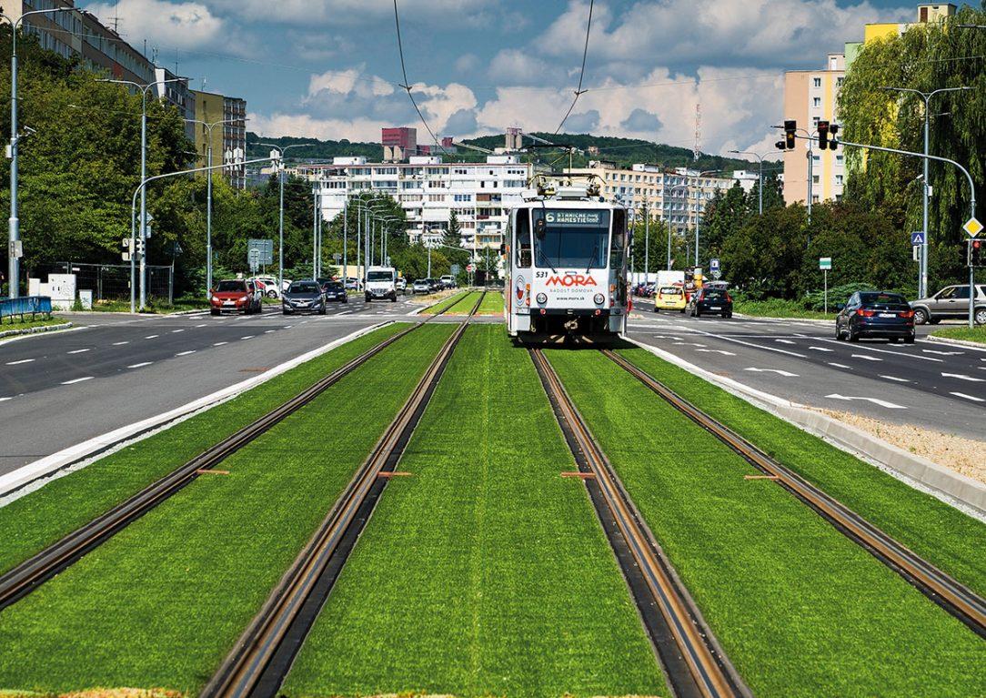 Modernizácia električkových tratí vmeste Košice