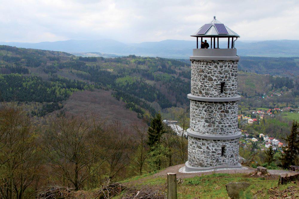 Bučina obec Kyselka ČR