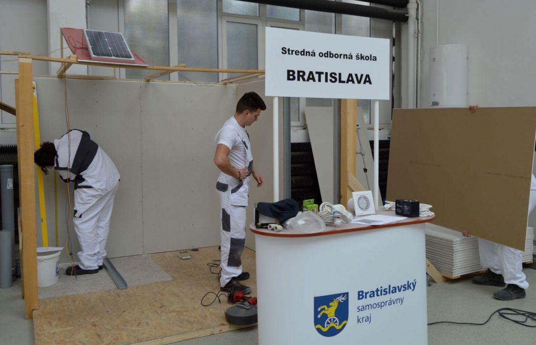 Medzinárodná súťaž praktických zručností a odborných vedomostí kombinovaných družstiev žiakov učebných odborov elektromechanik murár inštalatér