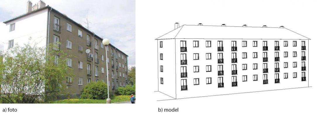 Obr. 1 Bytový dom typu T1251
