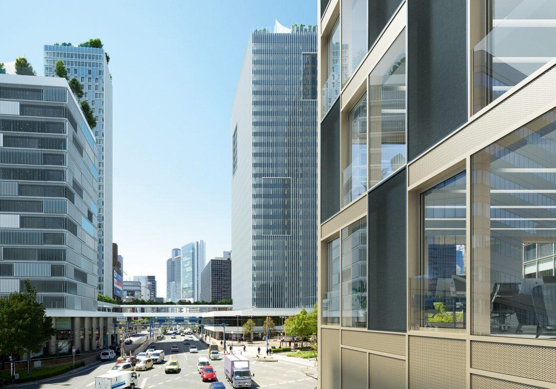 Schüco prototyp predstavený počas BAU 2019 Vonkajšie fasády pohlcujúce zvuk môžu významne prispieť k zníženiu šírenia hluku v mestských priestoroch.