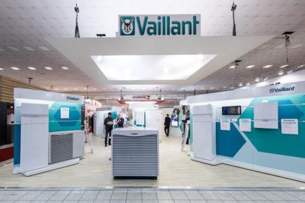 Stánok Vaillant na Aquatherme 2019