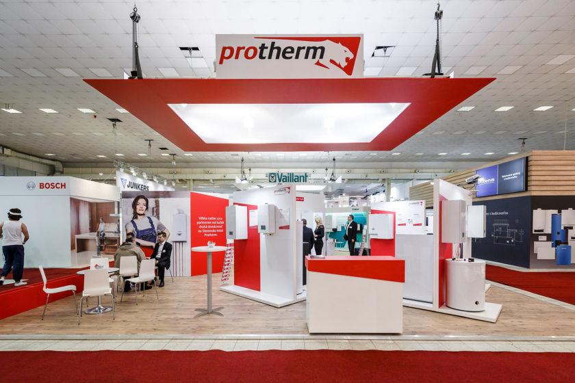Stánok značky Protherm na veľtrhu Aquatherm Nitra 2019