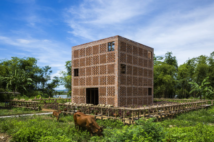 Terra Cotta Studio Vietnam Výherca kategórie Working together Wienerberger Brick Award 2018