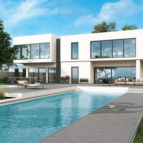 esťkomorový profil Elegante je vhodný pre pasívne aj nízkoenergetické domy (Inoutic/Deceuninck)