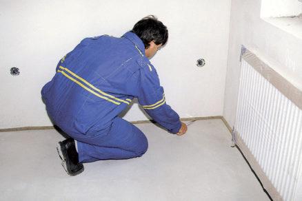 06 Zrezanie podlahových pásikov