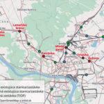 Obr. 1 Koncepcia železničných zastávok v Bratislave 6