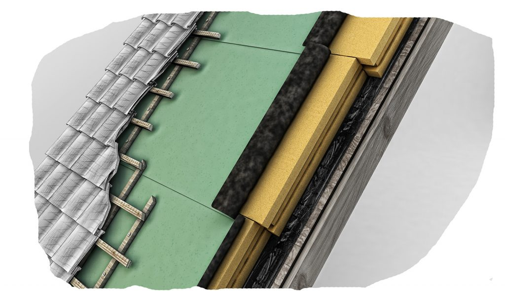 Austrotherm Resolution supertenká nadkrokvová izolácia šikmej strechy