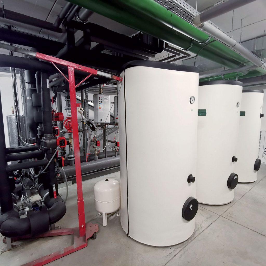 Jednou z funkcií tepelného čerpadla je aj príprava teplej vody.