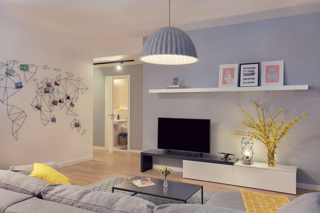 Obývacia izba.