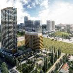 Projekt Klingerka prinesie okrem bývania v najvyššej obytnej budove na Slovensku 115 m aj administratívny objekt a verejný park.