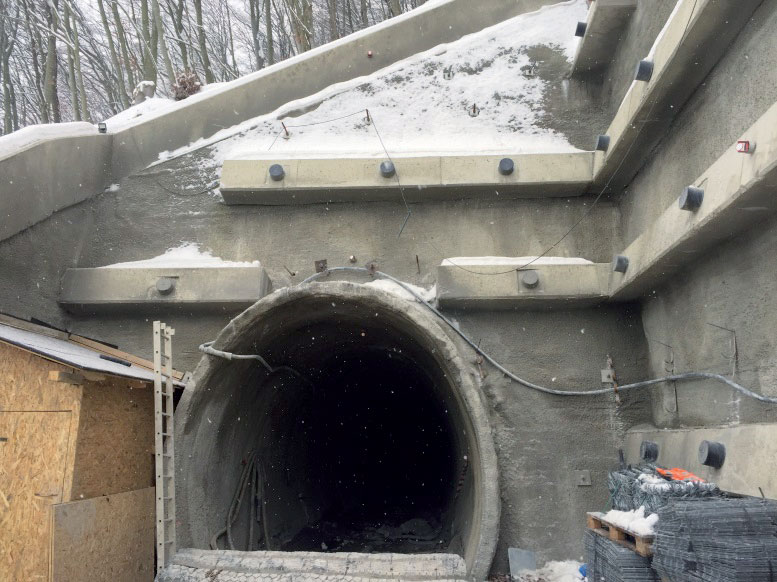 SO 44.33.33 Úniková štôlňa z východného portálu tunela Diel