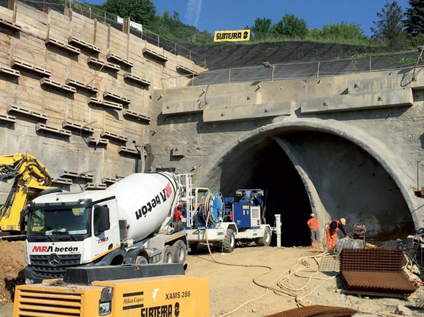 SO 44.33.37 Východný portál tunela Milochov