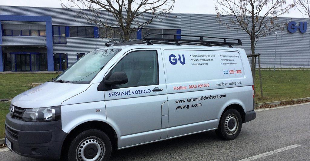 Servisné vozidlo GU