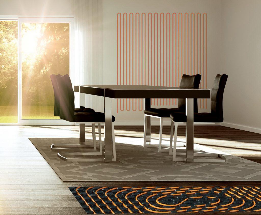 gabotherm podlahové a stenové vykurovanie