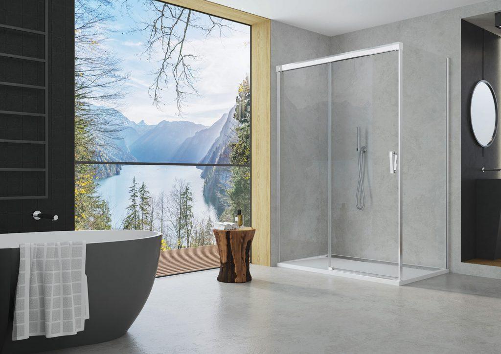 CADURA nový rad kvalitných sprchových zásten od spoločnosti SanSwiss