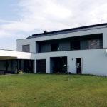 Obr. 1 Rodinný dom vybraný na realizáciu experimentálnych meraní.