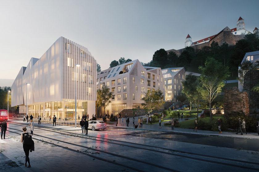 Projekt v centre mesta bude podporovať aj iné formy dopravy napríklad MHD a cyklodopravu.