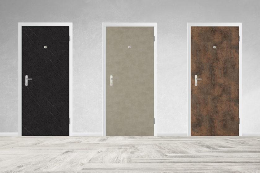 ed339f7e73 bezpečnostné dvere SHERLOCK® s extrémne odolným a dizajnovým povrchom  FunderMax