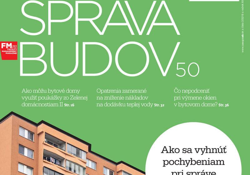 časopis Správa budov 2 2019