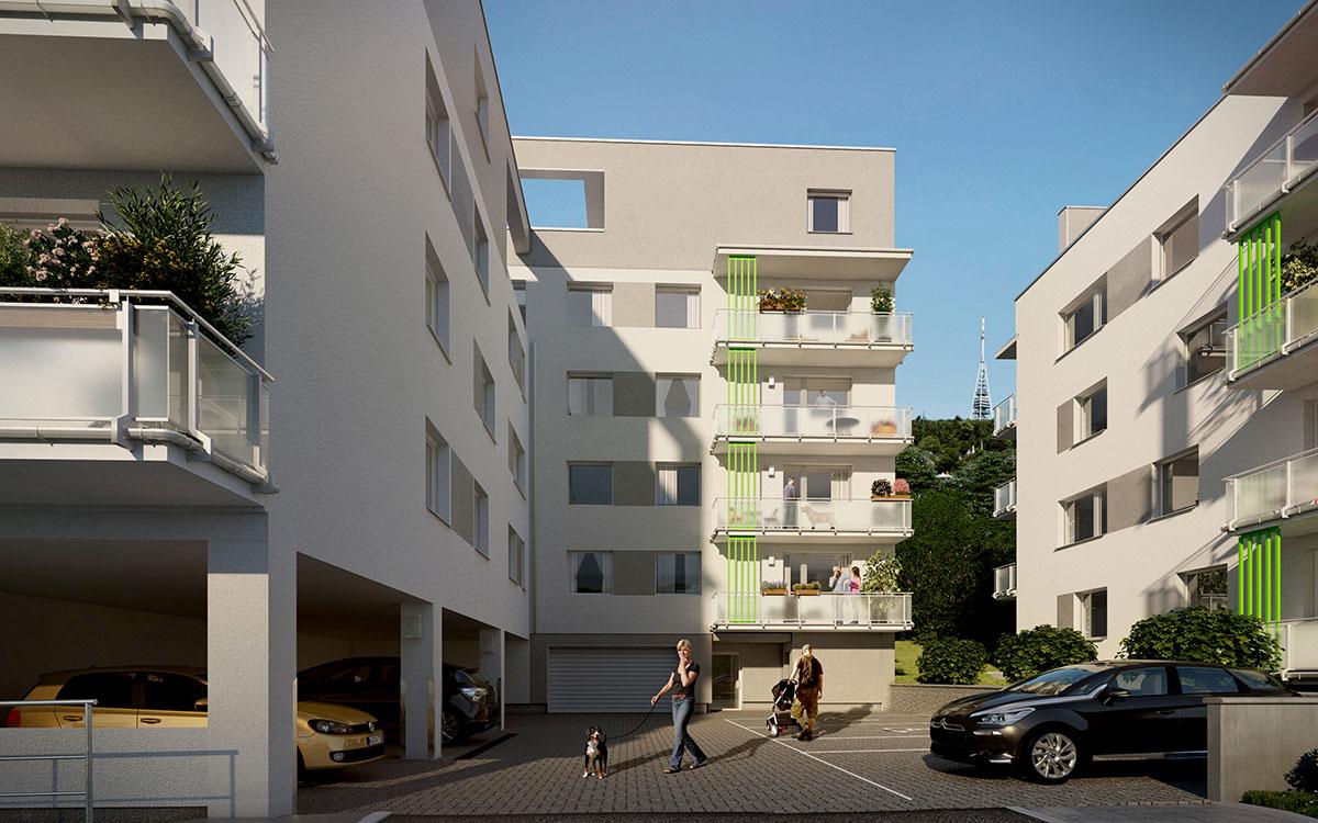 Bytové domy Nová Vlárska 2