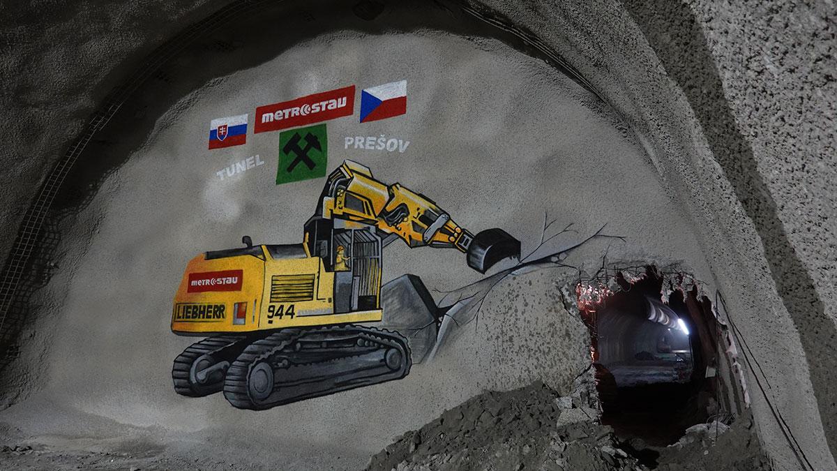 Dňa 13.6.2019 sa za účasti ministra dopravy Arpáda Erséka konala slávnostná prerážka pravej tunelovej rúry tunela Prešov